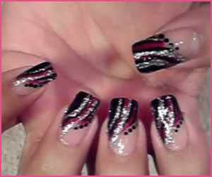 ross-french-nail-art-with-lines